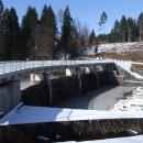 Přehrada Hradiště na řece Černé