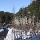 Tam nahoře je hrad Sokolčí