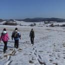 S výhledem na Dluhoště s panoramatem Novohradských hor se víkend končí