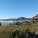 Výhled z Růžohorek k Výrovce a Studniční hoře