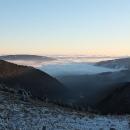 Sestupujeme do oblak Obřího dolu