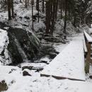 Ústí Liščího potoka v Zeleném dole