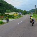 První boršč, a to jsme neujeli ještě ani padesát kilometrů :-)
