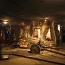 Uvnitř památníku je působivé muzeum