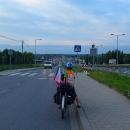 Na kraj Krakowa jsme se dostali blbě navečer. Ale místo na nocleh se našlo...