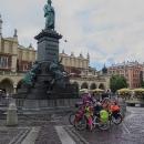 V Krakově na rynku