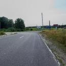 Hraniční přechod na Trojmezí vypadá jako obyčejný kruhový objezd ...