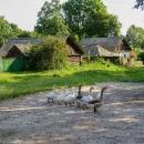 Ukrajinský venkov byl ještě o něco chudší než ten ruský
