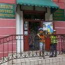 Koupili jsme si ukrajinskou vlajku, ruská zmizela v báglech