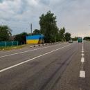 Zastávky v ukrajinskách barvách