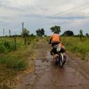 Žlutá silnice mezi Viktorivkou a Smoljankou už dnes neexistuje...