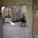 Pavla zajímají spíše interiéry hradu