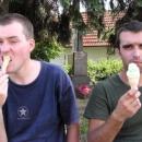 Vanilková a pistáciová TOČENÁ zmrzlina