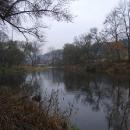 Podzimní řeka Sázava