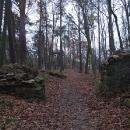 Dosažení hradu Zlenice