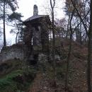 Vstupní brána do hradu Zlenice