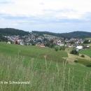 Městečko Schonach
