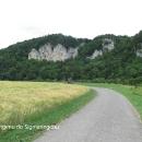 Cesta z Tuttlingenu do Sigmaringenu je nádherná.