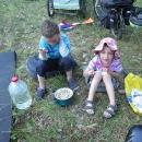 Večeře v trávě