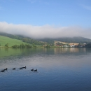 Ráno nad vodou