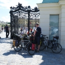 K završení prohlídky si prosazuji zajížďku k zámku Schönbrunn