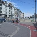 Vídeň je protkaná cyklostezkami.