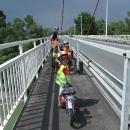 Přejíždíme poslední Donau brücke