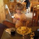 Oběd na oslavu příjezdu do Čech