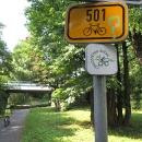 Cyklostezka podél Vsetínské Bečvy