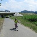 Cyklostezka podél Bečvy