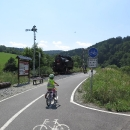Cyklostezka podél Moravské Sázavy vede nově po zrušené části železnice