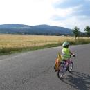 Příjezd do Heroltic pod Bukovou horou