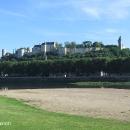 Pevnost Chinon nad řekou Vienne