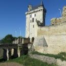 Na hradě Chinon