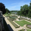 Zahrady zámku Rigny-Ussé,