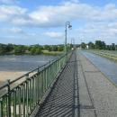 Vodu tekoucí po mostě přes řeku jsme viděli už vloni u Magdeburgu, tento byl ale vybudovaný o sto let dříve.