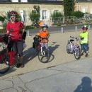 Oficiální začátek (pro nás konec) cyklostezky podél Loiry