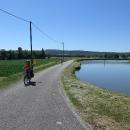 Pohoda na cyklostezce podél kanálu