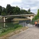 Ve městě Dole začíná krásná cyklostezka podél řeky Doubs.