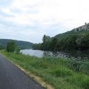Řeka Doubs - hrady a lodě