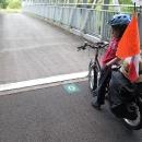 Konec cyklostezky podél Doubs