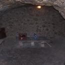 Byli jsme zavedeni i do rozsáhlých sklepů pod Granátkou - pivo se tu chladí jako kdysi :-)