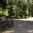 Zatěžkávací zkouška - cesta na Boudu - konečně v první zatáčce!