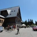 Nově opravená Kramářova chata