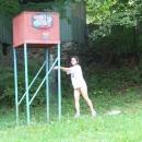 K dispozici byla i sprcha s vlažnou vodou :-)