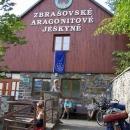 Ranní prohlídka po rekonstrukci nově otevřených Zbrašovských aragonitových jeskyní