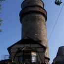 Po brutálním skoro kolmém kopci jdeme na prohlídku Štramberského hradu zvaného Trúba.