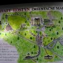 Plánek poutního areálu na Hostýnu