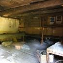 Uvnitř boudy trempíků a nadšených opravovatelů hradu