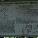 Naučná stezka u Kounova o zdejším hradišti a kamenných řadách